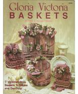 Gloria Victoria Baskets No. 8598 Craft Book Ruth C. Songer Mietek - $9.98