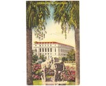 Linen postcard post office san antonio tx thumb155 crop
