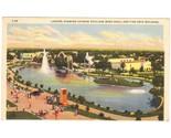 Vintage linen postcard lagoon texas centennial exposition tx thumb155 crop