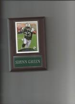 SHONN GREEN PLAQUE NEW YORK JETS NY FOOTBALL NFL - $0.01