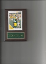 Nick Collins Plaque Green Bay Packers Football Nfl - $0.01