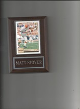 Matt Stover Plaque Cleveland Browns Football Nfl - $0.01