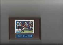 Joseph Addai Plaque Indianapolis Colts Football Nfl - $0.01