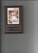 Colt Mc Coy Plaque Cleveland Browns Football Nfl - $0.49