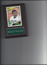 WESLEY WALKER PLAQUE NEW YORK JETS NY FOOTBALL NFL - $0.98