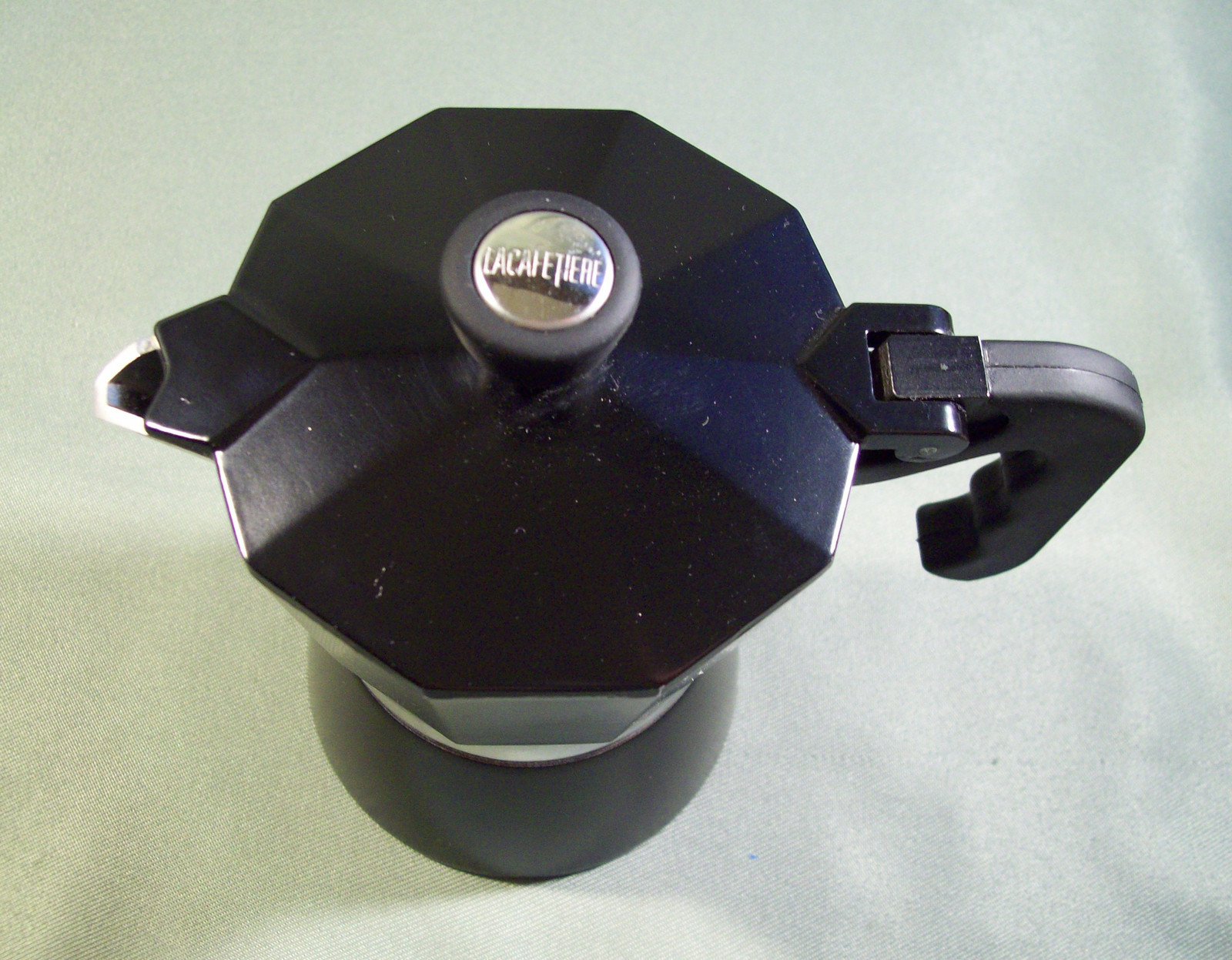 PRE-OWNED LA CAFETIERE BLACK STOVETOP ESPRESSO MAKER - SINGLE SERVING SIZE - Coffee Makers ...