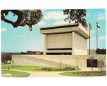 Vintage postcard lbj library university of texas austin tx thumb155 crop