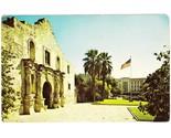 Vintage postcard the alamo san antonio texas tx thumb155 crop