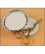 "Tart Tins Small 1.5"" 4/pkg framing cross stitch... - $6.00"