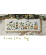 May monthly collection cross stitch chart Cricket Collection - $7.20