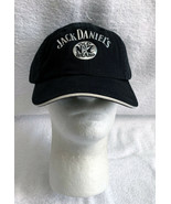 Jack Daniels Old No 7 Brand Whiskey Baseball Hat Mens Raised Metallic Logo  - $24.70