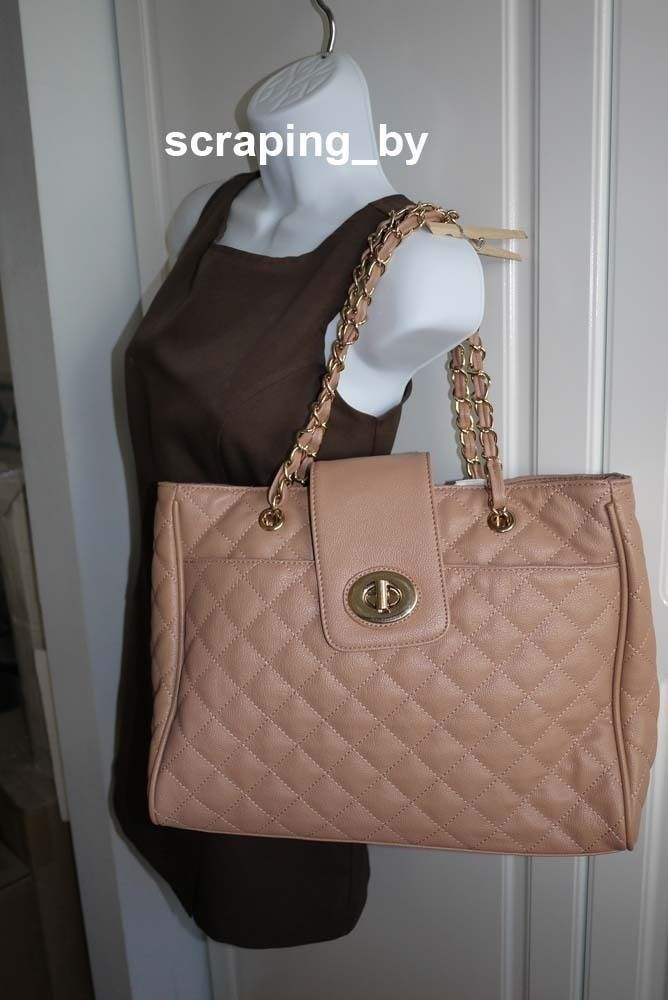 d05db897725 Aldo Leab Nude Quilted Purse Tote Bag New NWT and 50 similar items