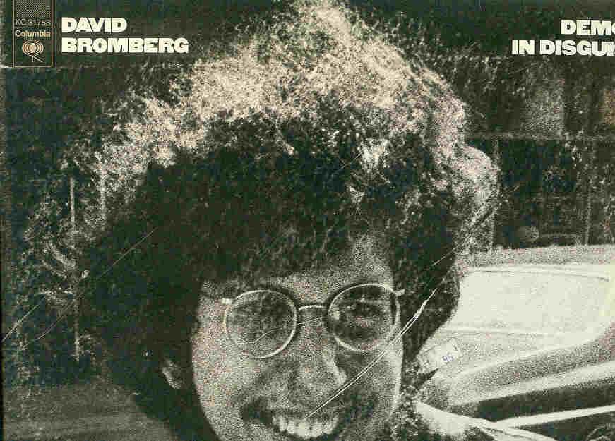 "David Bromberg LP ""Demon In Disguise"""