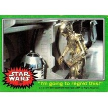 """1977 Topps Star Wars """"I'm Going To Regret This!"""" #220 Ex/Mt - $1.89"""