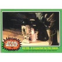 1977 Topps Star Wars R2 D2 Is Inspected By The Jawas #228 Ex/Mt - $1.89