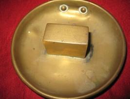 Antique Old Brass Lincoln Imp Devil Hanging Vesta Matchbox Holder image 4