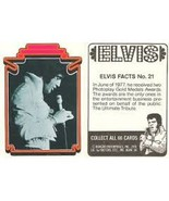 1978 Boxcar Enterprises ELVIS Trading Card #21 - $1.89
