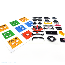 Death Squared Collector's Edition Sticker Sheet Decal Set From Switch Game - $49.99