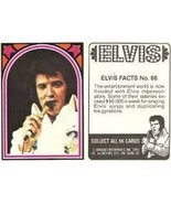 1978 Boxcar Enterprises ELVIS Trading Card #66 - $1.89
