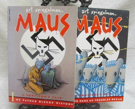 Maus Books 1 & 2 by Spiegelamn, Art - $34.30