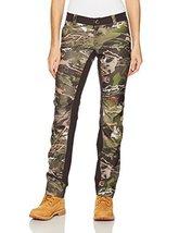 Under Armour Women's Fletching Pant,Ridge Reaper Camo Fo /Metallic Beige, 4