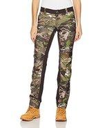 Under Armour Women's Fletching Pant,Ridge Reaper Camo Fo /Metallic Beige, 4 - $79.19
