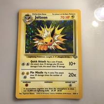 Pokemon Jolteon Holo 4/64 Jungle Card light play good condition - $12.50