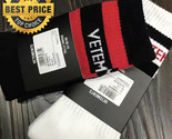 VETEMENTS SOCKS BLACK RED STRIPES Sexual Fantasies Skateboard Supreme Gosha