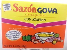 SAZON GOYA CON AZAFRAN  1.41 OZ - $5.53