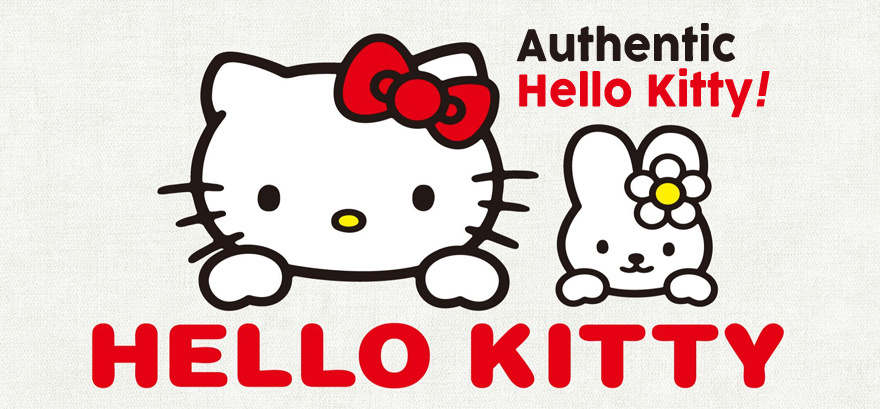 Hellokitty HELLO KITTY Half Size Bathroom Mat 106495 Check Ribbon  Foot Mat / Ba
