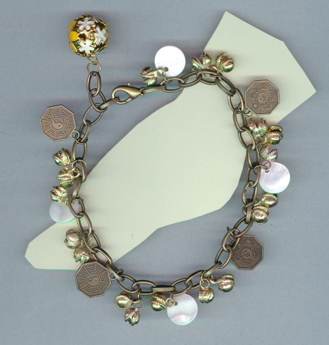 Belly Dance Anklet, Very Trendy #09Sc3-09, Free Ship