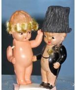 Celluloid Vintage Figures - cake tops - $15.00