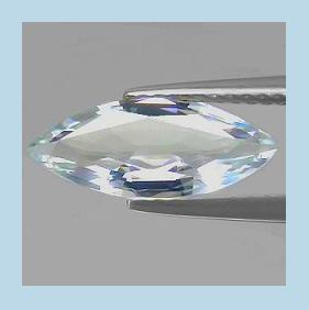 Natural AQUAMARINE 0.82ct Marquise Faceted Loose Gemstone