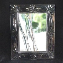 """1 (One) GALWAY CRYSTAL PICTURE FRAME Holds 5"""" x 7"""" Unused Crafted in Ire... - $33.24"""