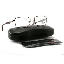 8a5412982bc Ray Ban Eyeglasses RX6284 2758 Dark Matte Brown Frame 53 17 140 Demo Lens -   97.26