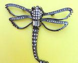 Elegant rhinestone dragonfly brooch pin 1.1.18 a thumb155 crop