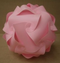 Pink Plastic Geometrical Ball 18in Diameter - $152.00