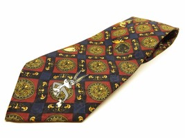 Looney Tunes Mania Tie Allover Pattern 100% Polyester Necktie Made in Korea - $23.72