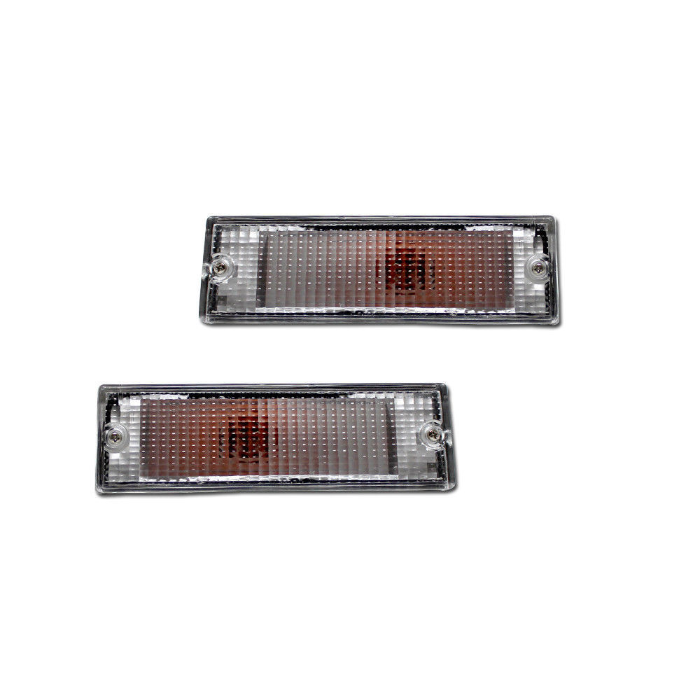 NEW Replacement P/U Signal Lights for 87-93 Mitsubishi Same Day Ship From CA