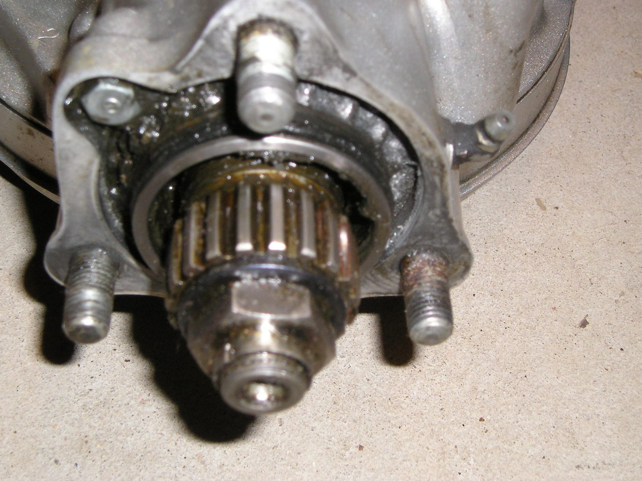 Honda GL1100 80-82, CB900C 80-82 final driven gear assembly