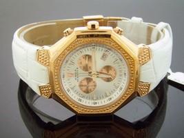 Aqua Master 42MM 20 Diamond Watch Rose Gold - $141.08