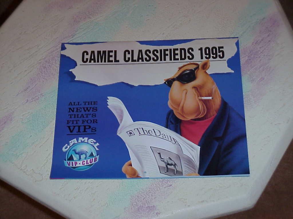 Joe Camel Matchbooks Box of 50 Unopened