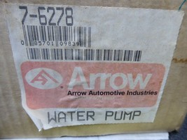 7-6278 Toyota Water Pump Remanufactured By Arrow 16100-39315, 16100-39316 image 2