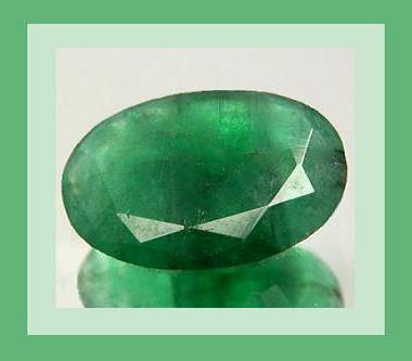 Emerald oval 5.5x2.7 0.40ct