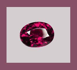Garnet rhodalite oval 7x5ct
