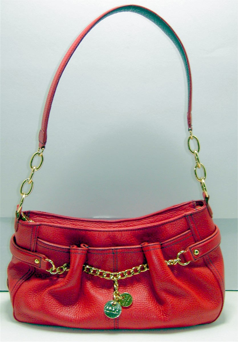 e44c75131c2 Red Leather Purse by Maxx of NY and 50 similar items