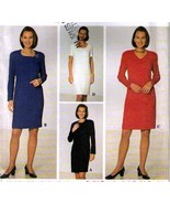 1997 DRESS Pattern 7754-s Size 10-12-14 - UNCUT  - $12.99