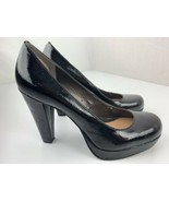 Calvin Klein Scarlet Wedge High Heels Women's Shoes Size 9 M Black E3297 - $24.74