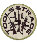 """Tools of the Trade Guns Patch with Hook Back 3.25"""" - $5.99"""