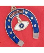 Horse shoe ornament from Jerusalem Israel jewish against evil eye - £9.00 GBP